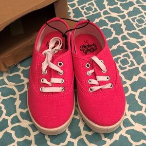 Girls Faded Glory Hot Pink Shoes